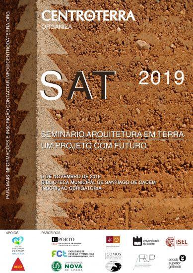 SAT 2019 – Seminário Arquitetura em Terra – um projeto com futuro