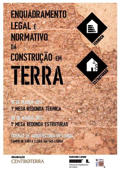 1ª Mesa Redonda – Enquadramento Legal e Normativo da Construção em Terra